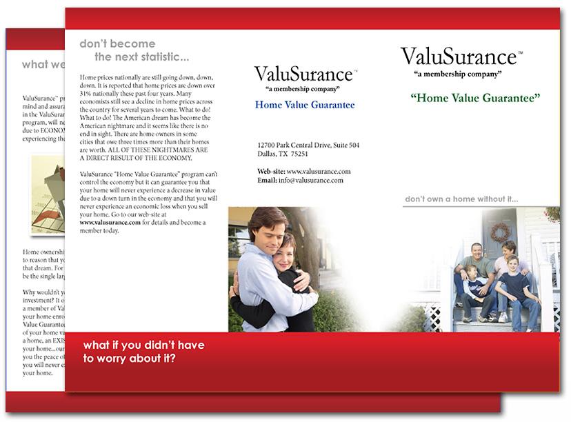 Commercial Brochure Design - Denton, Texas