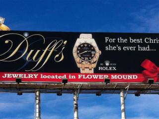 Billboard Design - Denton, Texas